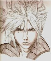 Cloud Strife Profile: AC by The-MuseDragon