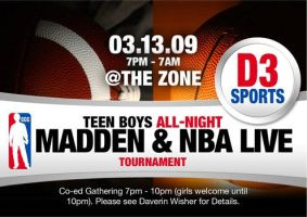D3 All Night Madden NBA Live by cgitech