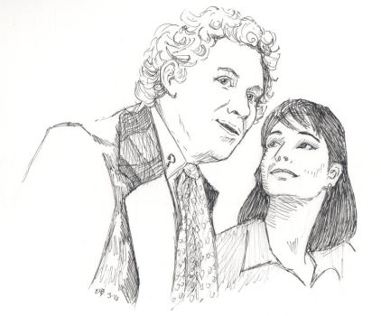 Sixth Doctor, Peri -Colin Baker, Nicola Bryant by Circular-Time
