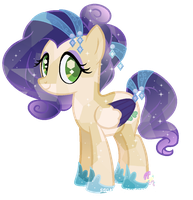 Crystal Mia by SugarMoonPonyArtist