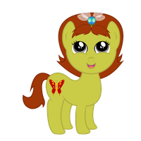 Phoebe Terese as a Pony by DAbestpony