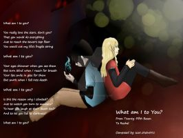 Tower of God - Baam and Rachel by scarChain021