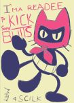 Badass Cattin (character by Scilk) by SuperMattyBros
