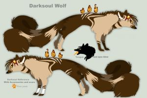 Darksoul OFFICIAL Ref Sheet by Darksoul-wolf