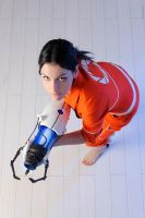 Chell - Portal by lAmikol