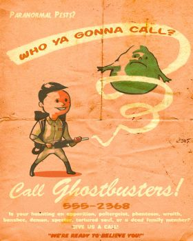 SFG Ad Boy: Ghostbusters by ninjaink