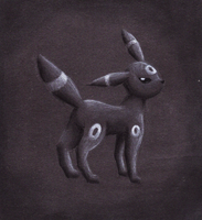 Umbreon by 13thLunarOrbit