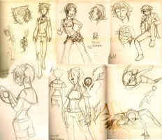 Character Design Layout by BlackHarpyGoddess
