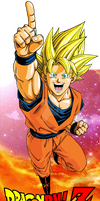 goku-dragon ball by overkillborjack