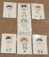 bts chibi by mixout99
