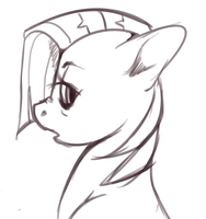 Sketching Babs by Imalou