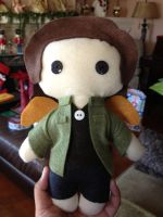 COMMISSION Gabriel Plushie from Supernatural by jasmineofderpsalot