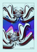 abstract-crabs-sterling by sonafoitova
