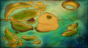 .:Map of TDC Islands:. by WarriorRainyDay