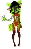 Gas mask adopt by adoptableluvr