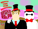 Happy Two Year Anniversary Wreck-It Ralph!!! by DarkwingFan