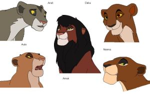zola's and amadi's cubs colors by naimassparrow101