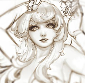 Medirin Wip face closeup by phungdinhdung