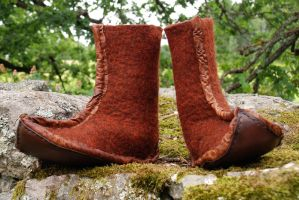 Mongol boots by Nimpsu