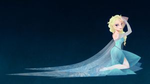 Elsa Wallpaper by HellHum