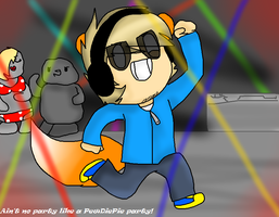 Ain't no party like a PewdiePie party (CBFD) by wafflesaregooderz83
