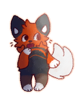 White-Tailed-Fox commission by MellowKun