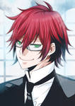 Grell Sutcliff by Fuugen