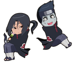 Itachi and Kisame by Oshawat19