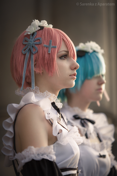 Ram and Rem by KUMIcosplay