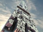 Futuristic skyscraper by whateverscoolwithme