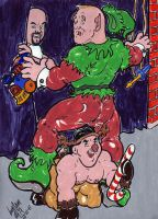 Mudflap County Xmas Pageant by CManArt1