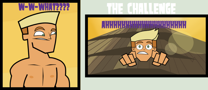Challenge 1-PART 1-NOT SO HAPPY CAMPERS! by Gaby2003