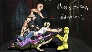 Happy B-Day, Stephano! by ArantxaCosplayer
