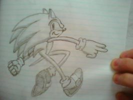 Sonic Sketch 6 by Dillpickle987