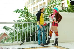 Jewelry Bonney and Trafalgar Law by otakitty