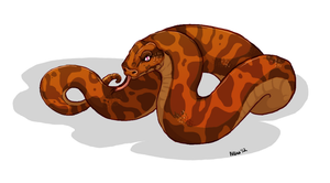 Jor Snake by nightspiritwing