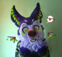 I hope I get my wings soon! ~Aro the Bat For Sale! by TwerkOnThatShark