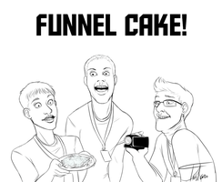 Funnel cake by TheTinyTaco