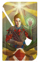 Dragon Age: Inquisitor Tarot Card by Tobiassilverstreak