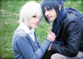 Shion and Nezumi by hakucosplay