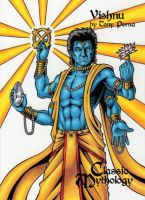 Vishnu - Classic Mythology by tonyperna