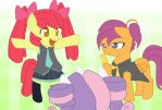 Cutie Mark Crusaders: Triple Baka by IloveSTEPHANO3