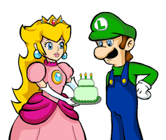 Gift: A Cake for Luigi? by MissLink8908