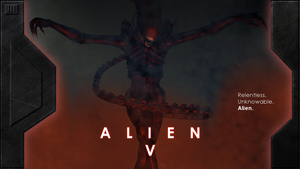 Alien V Concept Poster by OpenMawProductions