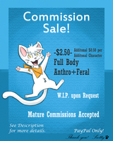 Commision Sale! by TheSadLonelyFox