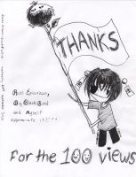 THANKS for the 100 pageviews by karenmizuno