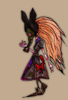 Frouleine Astrid concept by Rather-Drawn