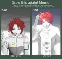 Before and after XD by U-JI