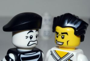 Lego Round 3... Fight by Aniallation