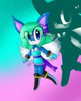 Contest:Crystal The Hedgehog by OXxDarkStarxXO